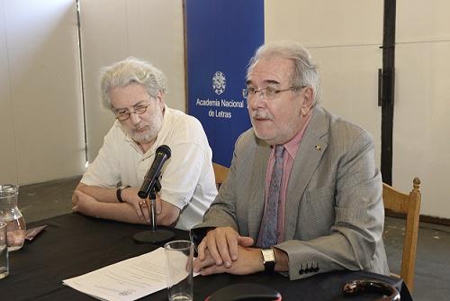 Juan Grompone y Adolfo Elizaincín