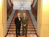 Visita del presidente de la ANL a la Real Academia Española