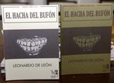 """Leonardo de León presentó """"El hacha del bufón"""" en la ANL"""