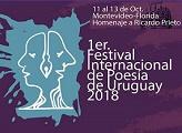 1er. Festival Internacional de Poesía de Uruguay 2018 - Homenaje a Ricardo Prieto