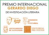 """Premio Internacional """"Gerardo Diego"""" de Investigación Literaria"""
