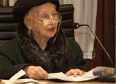 Fallecimiento de la Académica Emérita Angelita Parodi de Fierro