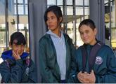Estudiantes en liceo