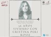 Encuentro 56 años Viviendo con Cristina Peri Rossi