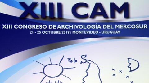 XIII Congreso de Archivología del Mercosur en Montevideo