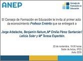 """El Consejo de Formación en Educación  nombrará """"Profesor Emérito"""" a Jorge Arbeleche"""