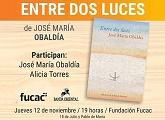 """Presentación del libro """"Entre dos luces"""" de José María Obaldía"""