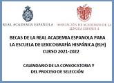 Escuela de Lexicografía Hispánica (ELH) - Becas