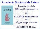 """La ANL presenta la Edición Conmemorativa de """"El señor presidente"""""""