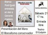 El liberalismo conservador nuevo libro de Gerardo Caetano