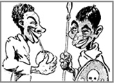 Caricaturas de Nueva Raza
