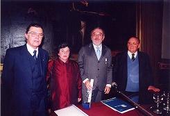 Incorporación de Adolfo Elizaincín a la academia
