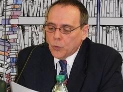 Incorporación de Rafael Courtoisie a la academia