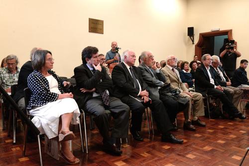 Público durante la presentación de la obra de Dieste para ser declarado Patrimonio de la Humanidad