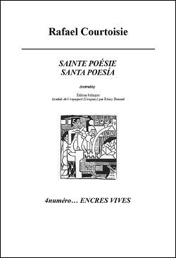 Libro Sainte poésie / Santa poesía de Rafael Courtoisie