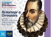 Homenaje a Cervantes.