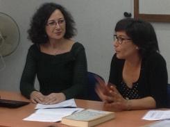 Eliana Lucián y Cecilia Bértola